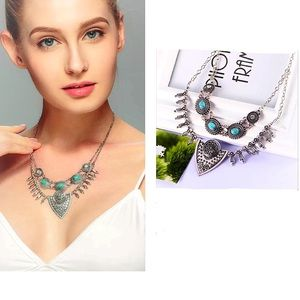 Just In🎉Ethnic Triangle Pendant  Necklace
